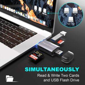 SockeTech 3-in-1 Memory Card Reader